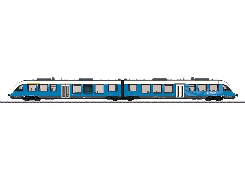 Nahverkehrs-Triebwagen LINT 41 BE, Sound, mfx+ DCC AC, H0