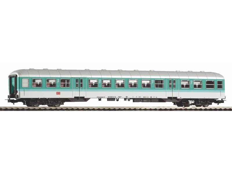 Nahverkehrswagen n-wagen 2. Kl. DB AG mintgrün, Ep.V, DC, H0