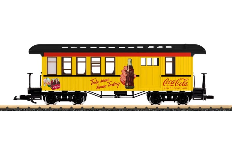 Coca Cola Halbgepäckwagen, Spur G