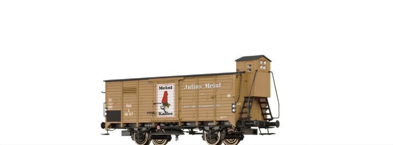 Gedeckter Güterwagen G Meinl der ÖBB, DC, Spur H0