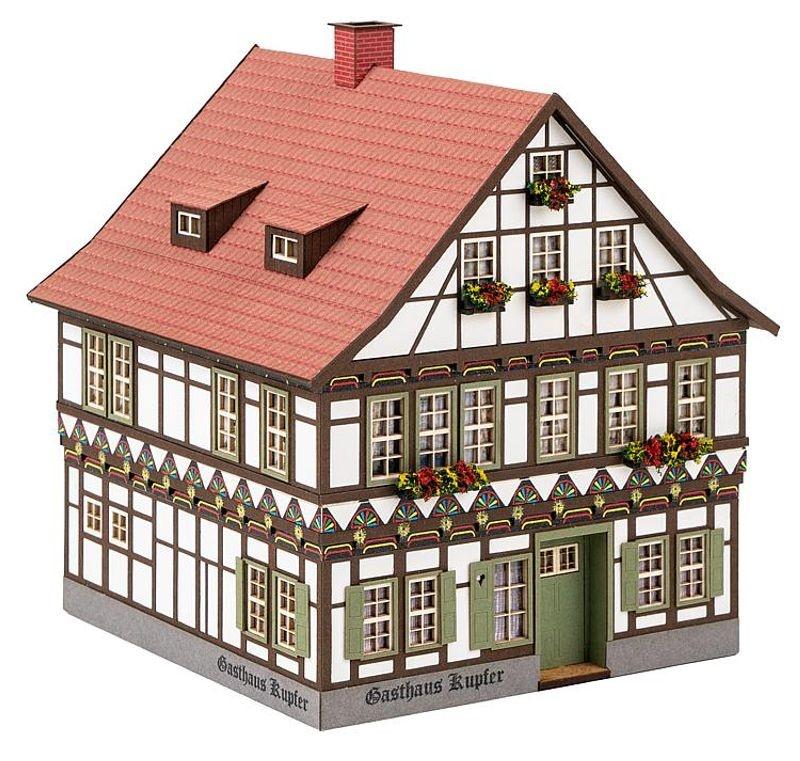 Gasthaus Kupfer Bausatz H0