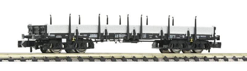 Flachwagen schwarz der DB, Spur N
