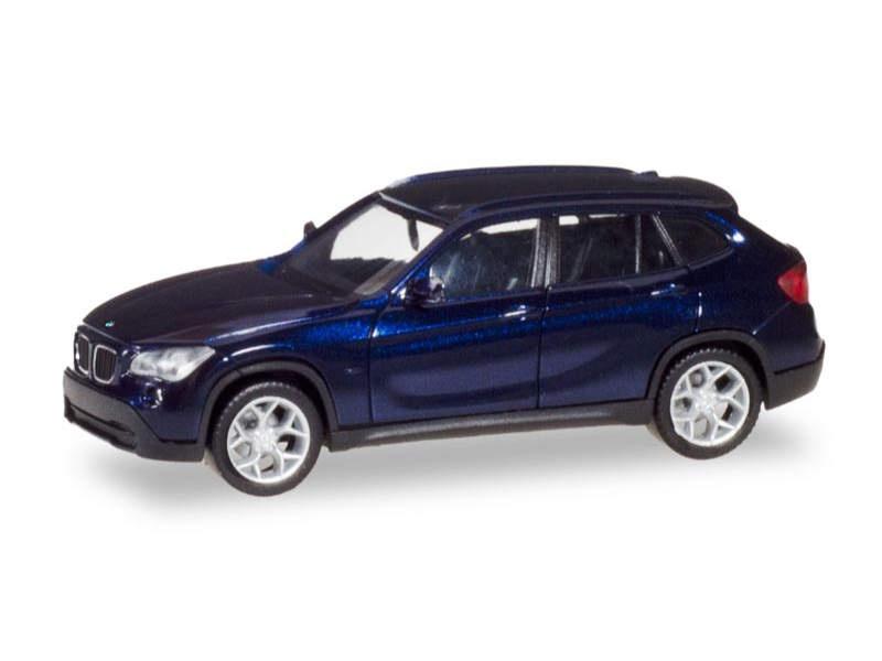 BMW X1, estorilblau metallic, 1:87 / H0