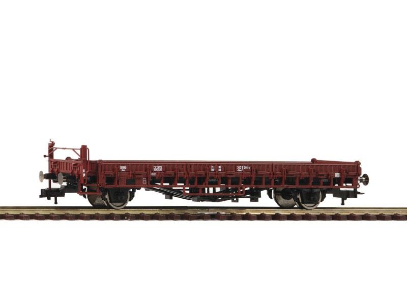 Güterwagen mit Bremserbühne Bauart Klms 440 der DB, DC, H0