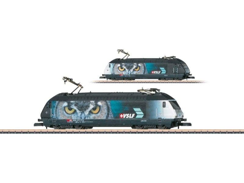 Elektrolokomotive Serie 460 VSLF SBB Spur Z