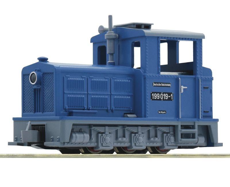 Schmalspurdiesellokomotive BR 199 der DR, DC, Spur H0e