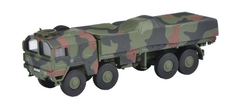 MAN 10t GL Lkw Bundeswehr, flecktarn 1:87 / Spur H0