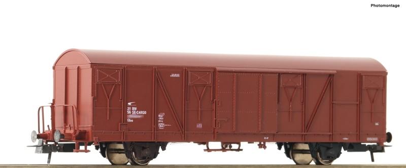 Gedeckter Güterwagen der ZSSK, DC, Spur H0