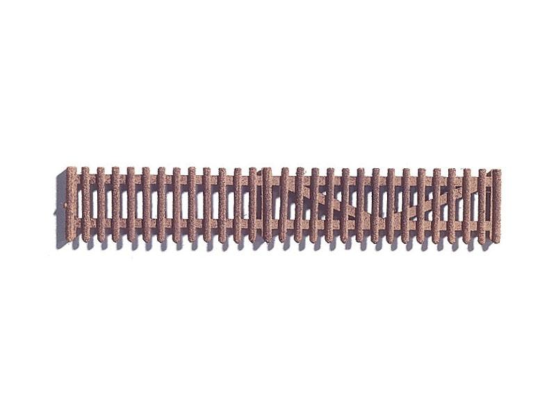 Gartenzaun, ca. 91 cm, 22 Teile Spur H0