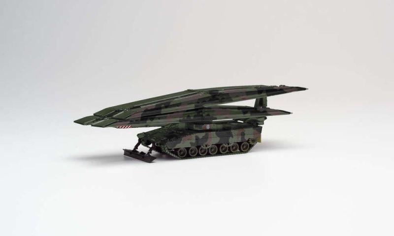 Brückenlegepanzer Leguan, dekoriert, 1:87, H0