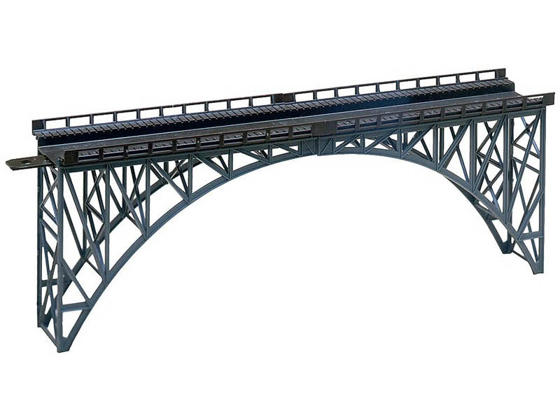 Stahlträgerbrücke Bausatz H0