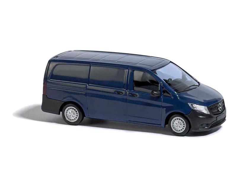 Mercedes Vito Kastenwagen, Blau, Spur H0