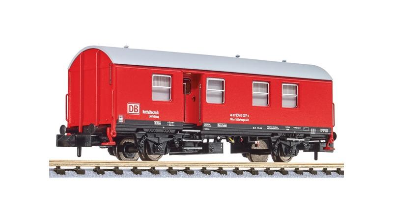 Umbau-Bahndienstwagen, Wohn-Schlafwagen, DB, Spur N