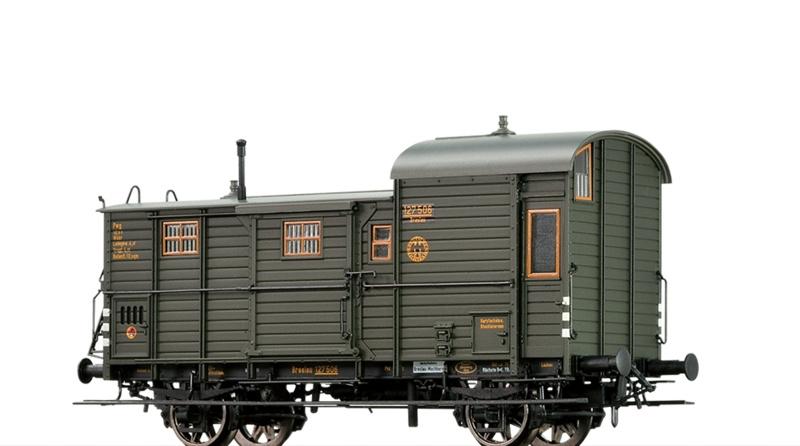 Güterzuggepäckwagen Pwg der DRG, DC, Spur H0