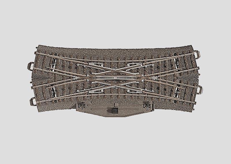 Doppelkreuzungsweiche 188,3 mm 24,3° Spur H0 C-Gleis