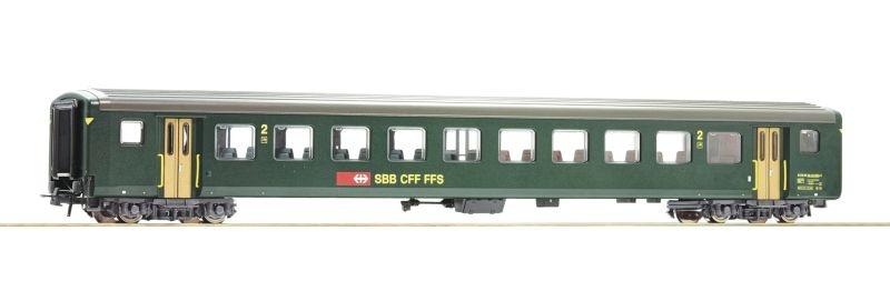 Schnellzugwagen EW II 2. Klasse der SBB, DC, Spur H0