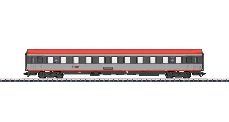 Personenwagen 2. Klasse Bmz der ÖBB, Spur H0