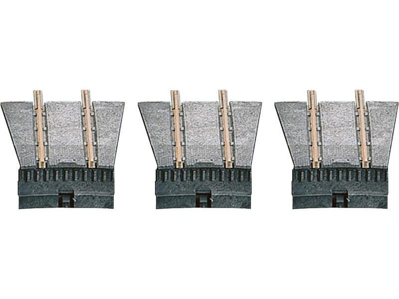 Ergänzungsset für die TT-Drehscheibe mit 3 Anfahrgleisen