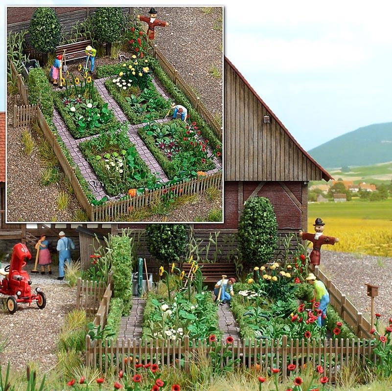 Bauerngarten Bausatz, Spur H0