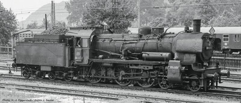 Dampflok BR 038 der DB, Sound, AC, Spur H0