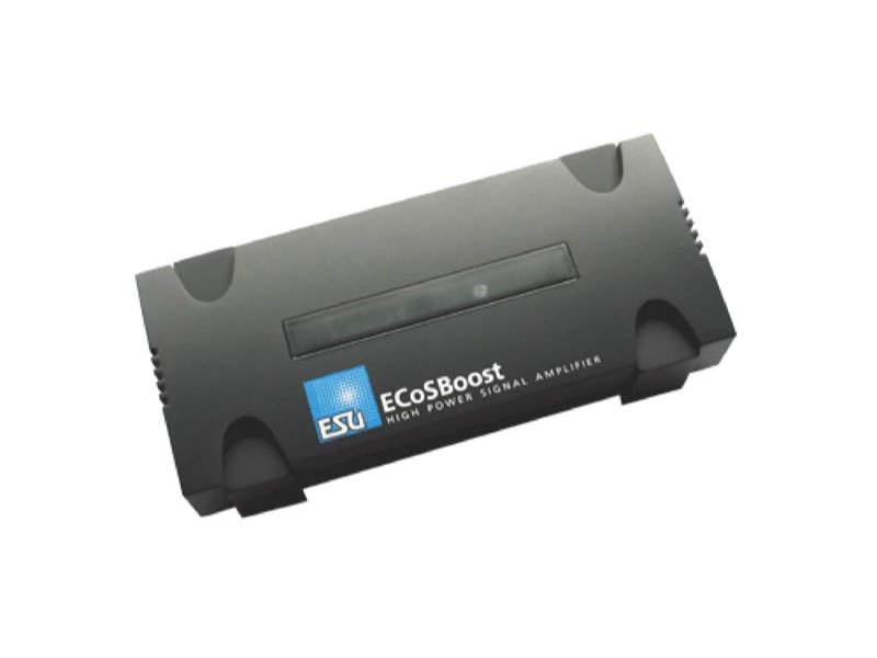ECoSBoost ext. Booster, 7A, MM/DCC/SX/M4, Set mit Netzteil