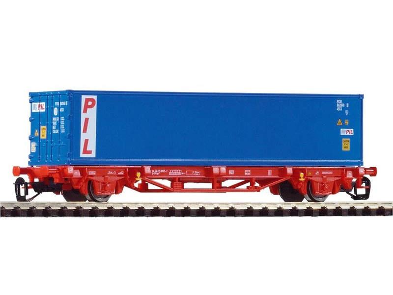 Containertragwagen Lgs579 1x40 PIL der DB AG, Epoche VI, TT