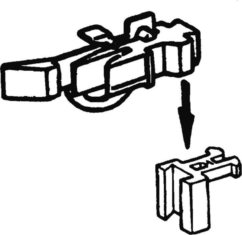 Kurzkupplungsköpfe für Ade®-Wagen H0
