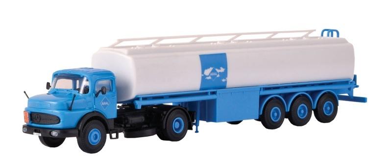 MB Rundhauber mit ARAL Tankwagen, Spur H0