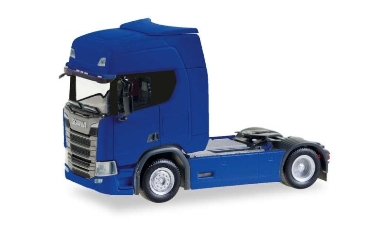 Scania CR 20 HD Zugmaschine, ultramarinblau, 1:87 / Spur H0