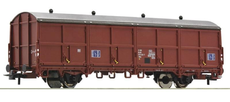 Schiebewand-Postwagen der NS, DC, Spur H0