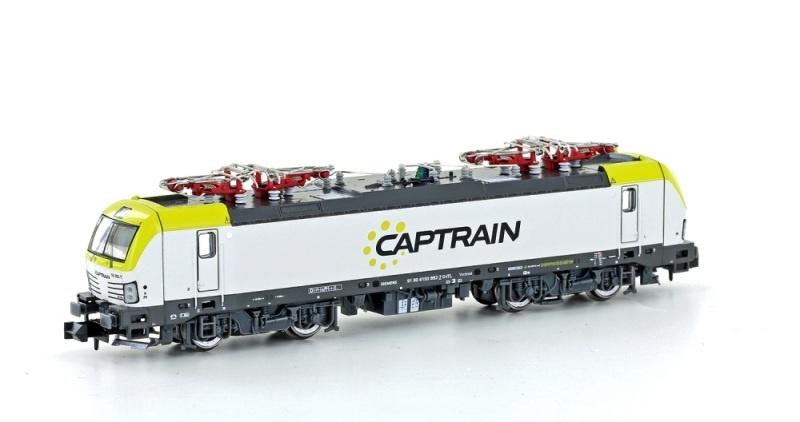E-Lok BR 193 Vectron Captrain, Ep.VI, Spur N