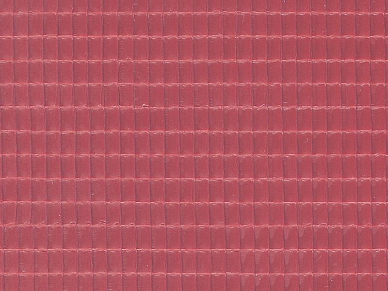 Dachplatte Flachdachpfanne aus Kunststoff, 21,8 x 11,9cm, H0