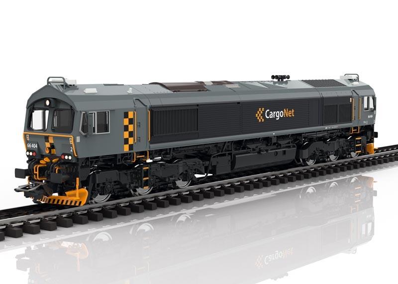 Diesellokomotive Class 66 CargoNet, Sound, mfx, DC, Spur H0