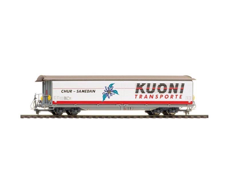 Schiebewandwagen Kuoni Haik-v 5132 der RhB, Spur H0m