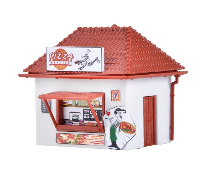 Pizza-Imbiss, Bausatz, Spur N