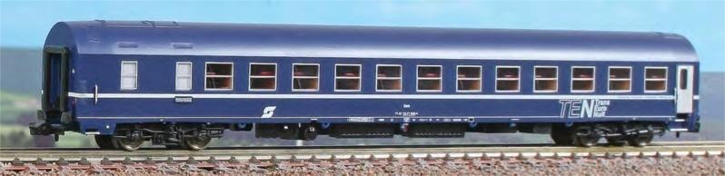 Schlafwagen Typ MU 1973, Spur N