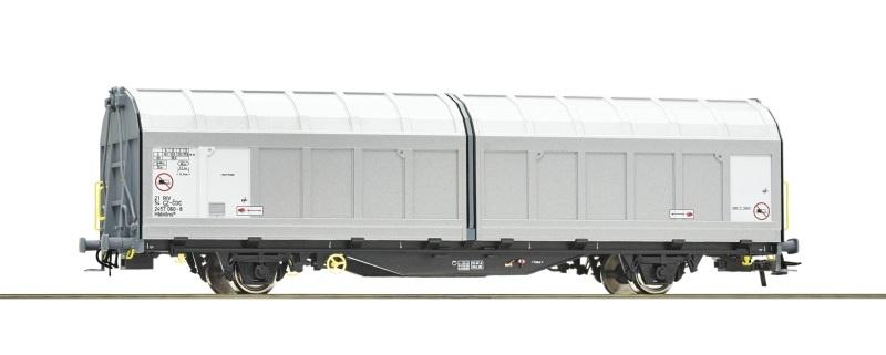 Schiebewandwagen der CD Cargo, DC, Spur H0