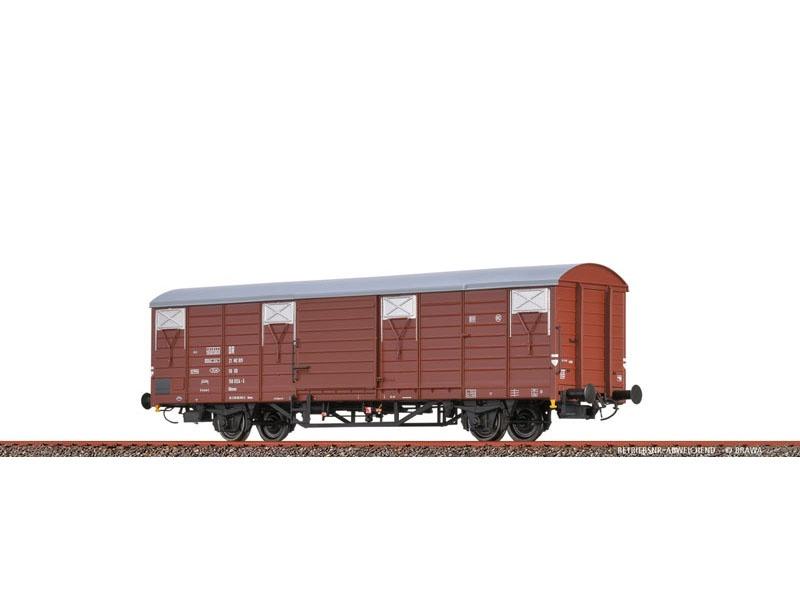 Gedeckter Güterwagen Glmms [1742] DR, IV, DC, Spur H0
