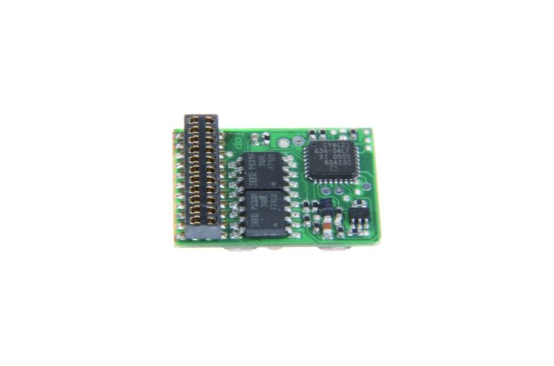 Multiprotokoll-Lokdecoder mit Lastregelung