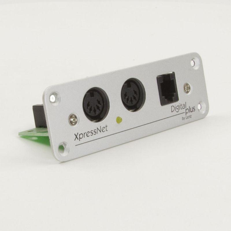 Adapter LA152  für Anschluss XpressNet, mit Frontplatte