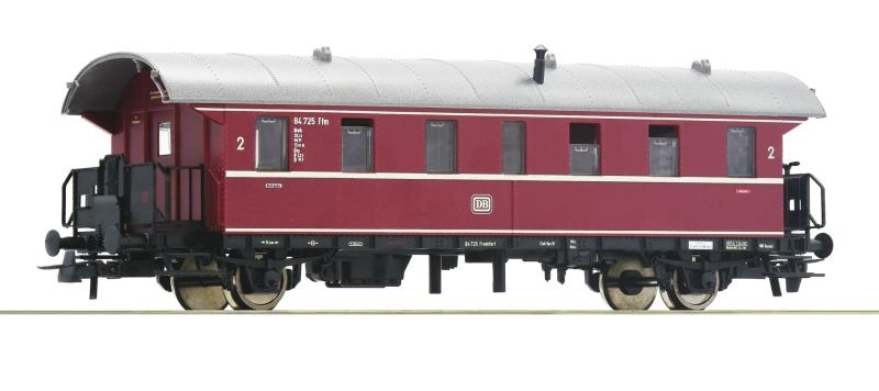 Personenwagen 2. Klasse Donnerbüchse der DB, DC, Spur H0