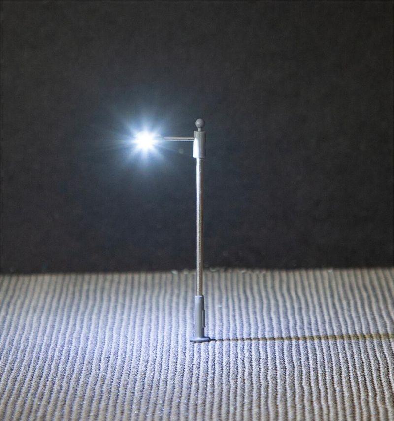 LED-Straßenbeleuchtungen, Ansatzleuchte, 3 Stück, Spur N
