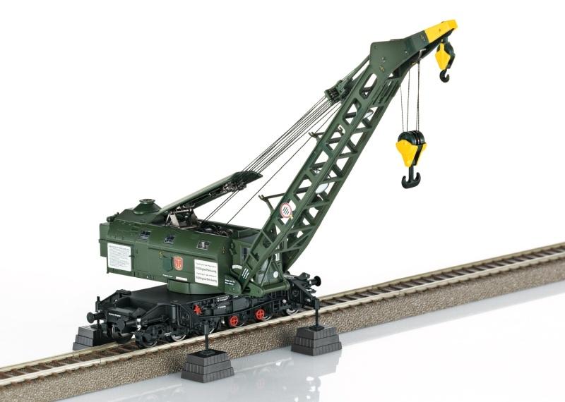 Dampfkran Bauart 058 (Ardelt) der DB, DC, Spur H0