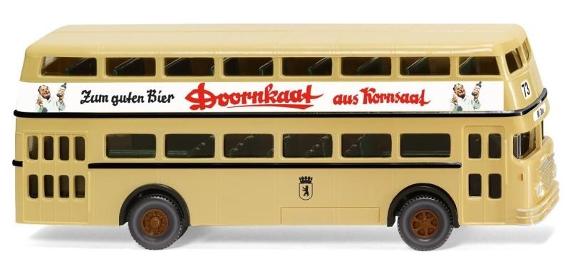 Doppeldeckerbus D2U (Büssing)Doornkaat, 1:87, Spur H0