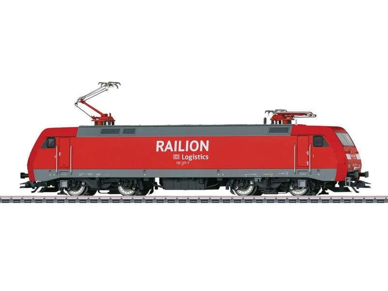 Elektrolokomotive BR 152 Railion Sound mfx+ H0