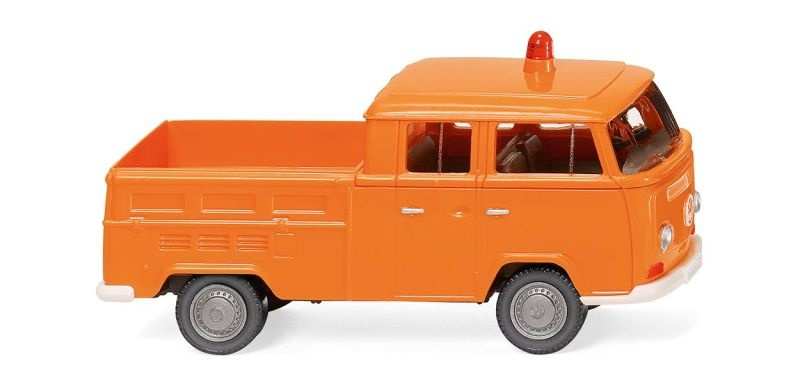 Kommunal - VW T2 Doppelkabine 1:87 / H0