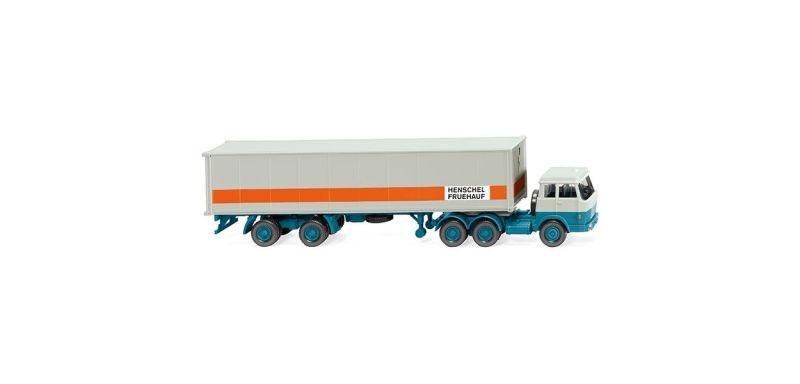 Containersattelzug (Hanomag Henschel) 1:87 / H0