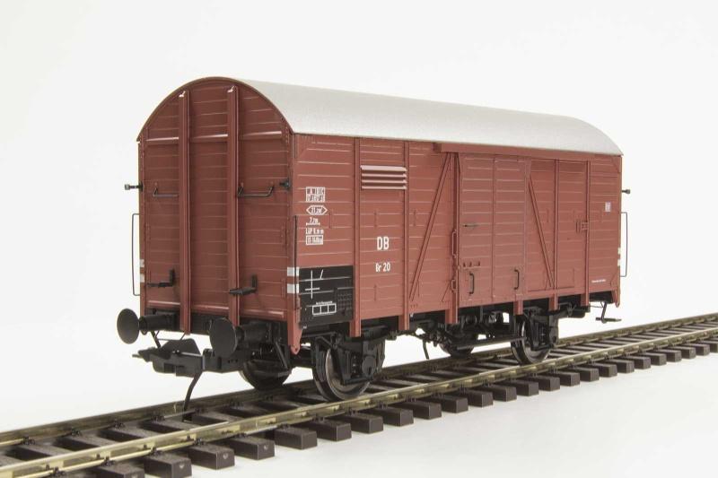Güterwagen Gr 20 Kassel der DB, 150 685, Ep. III, Spur 0