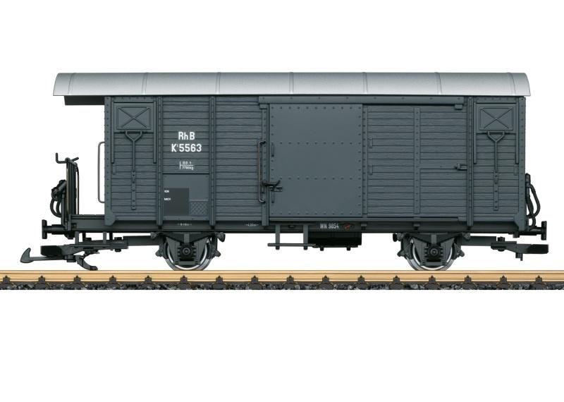 Gedeckter Güterwagen der RHB, Spur G