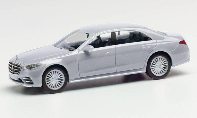 Mercedes-Benz S-Klasse, irridiumsilber metallic, H0, 1:87